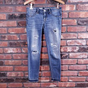 Mossimo Mid-rise Jegging Crop Jeans Released Hem